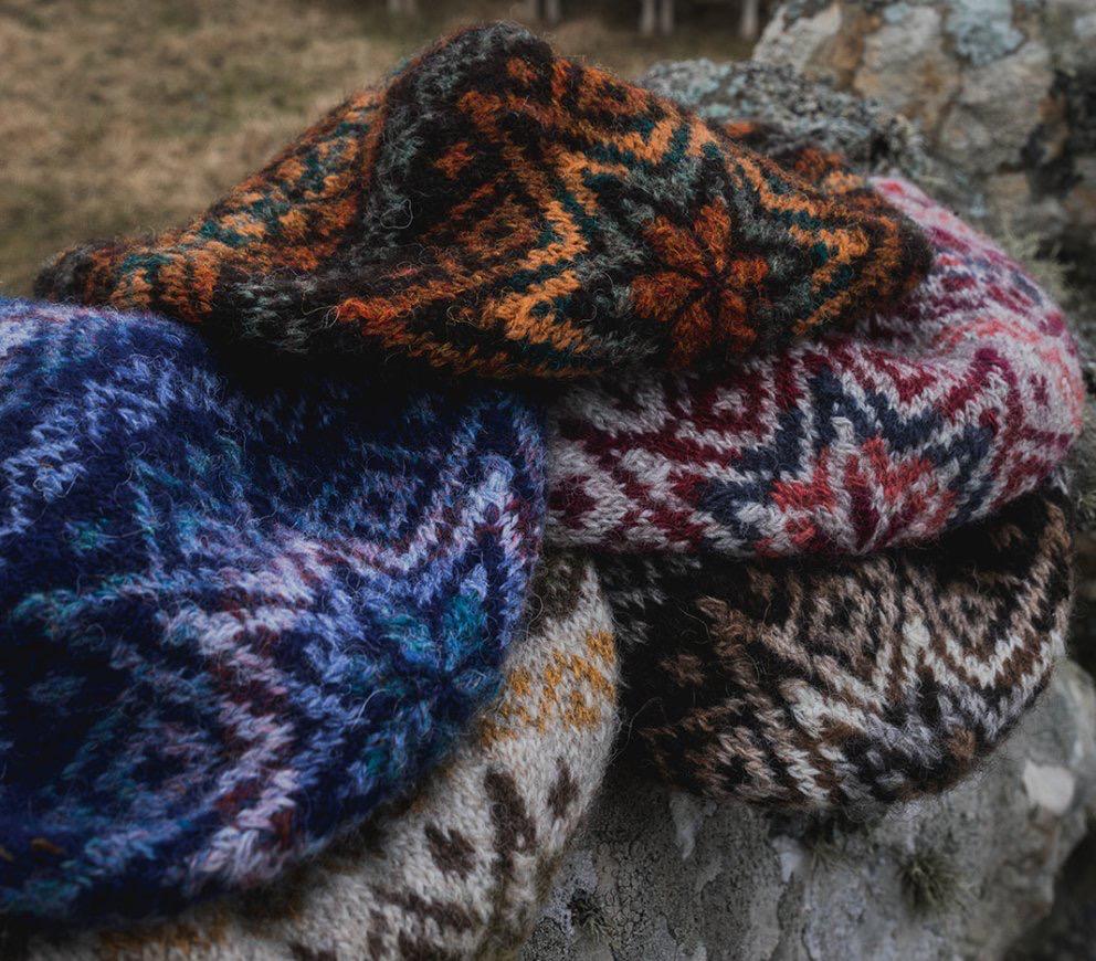 Jamiesons of Shetland Shetland Wool Week 2021, Da Crofter's Kep Kit, Colourway #2