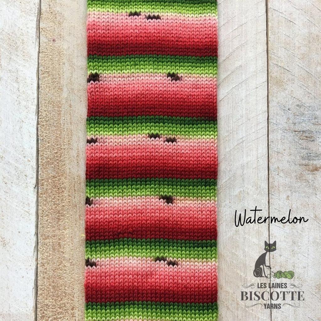 Biscotte & Cie Bis-Sock, Watermelon