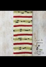 Biscotte & Cie Bis-Sock, Apple's Heart