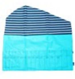 della Q Double Point Needle Roll, Teal Linen