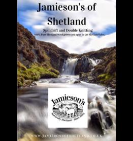 Jamiesons of Shetland Jamieson's of Shetland Spindrift Color Card