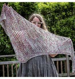 Knitted Wit The ShannaJean Club Year 2, June 2021 - The Nines Shawl, Nine of Cups