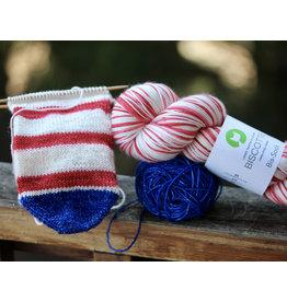 For Yarn's Sake, LLC Go For the Gold Sock Kit