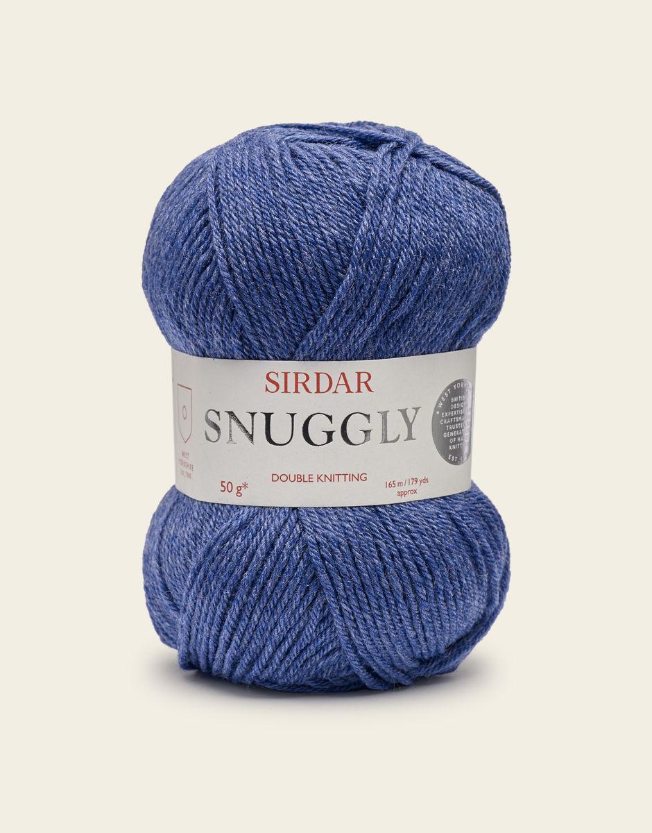 Sirdar Snuggly DK, Indigo Mix 353