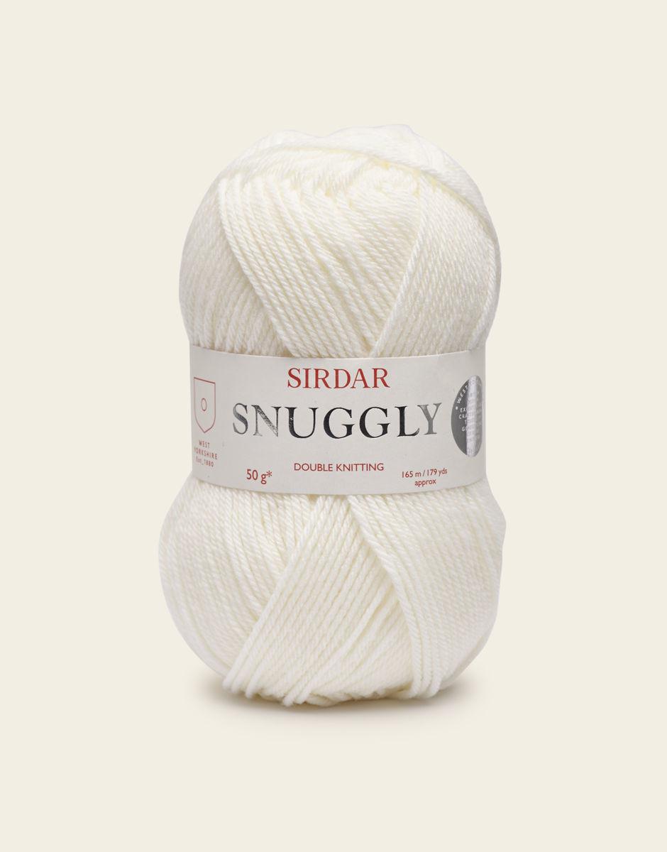 Sirdar Snuggly DK, White Color 251