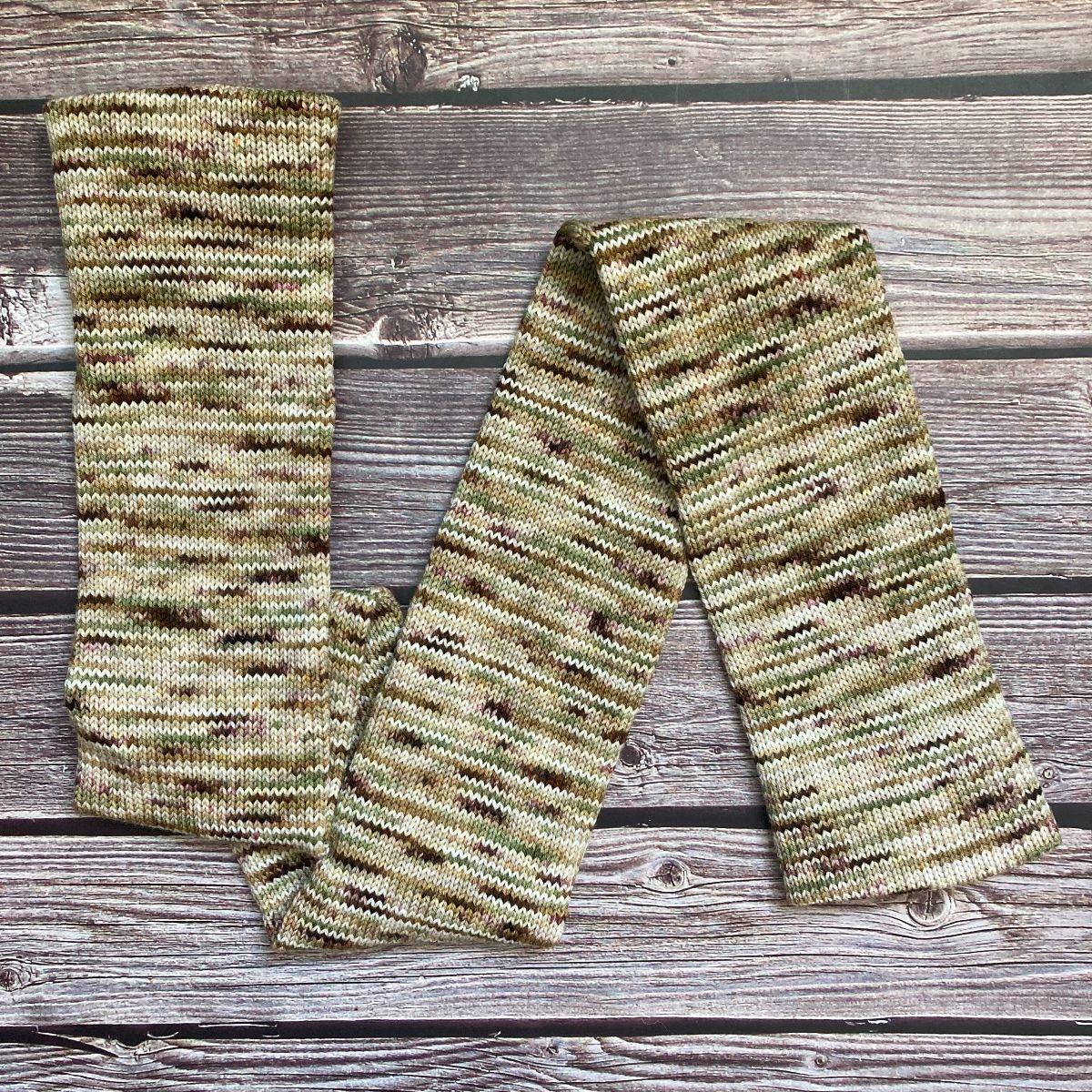 Knitted Wit HerStory Sock Club - DK - 2021 - Veteran Affairs (Senator Tammy Duckworth)