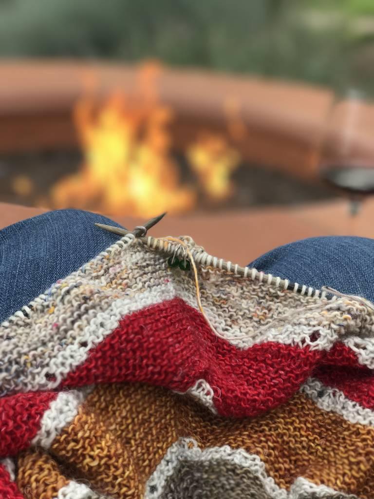 My New Favorite Knitting Spot