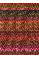 Noro Silk Garden, Reds/Rusts color 84