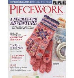 Interweave Piecework, July/August 2017