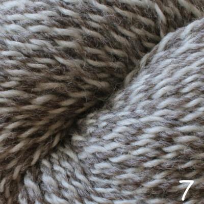 Baa Ram Ewe Dovestone Natural Aran, Color 7