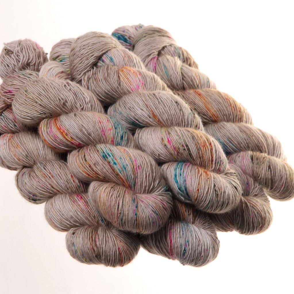 Hedgehog Fibres Hand Dyed Yarns Skinny Singles, Artifact
