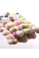 Hedgehog Fibres Hand Dyed Yarns Skinny Singles, Crybaby