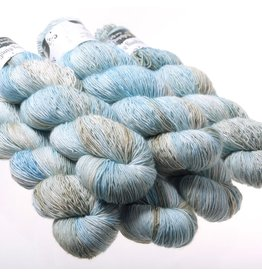 Hedgehog Fibres Hand Dyed Yarns Skinny Singles, Dove