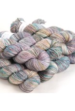 Hedgehog Fibres Hand Dyed Yarns Skinny Singles, Opalite