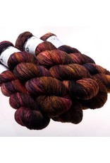 Hedgehog Fibres Hand Dyed Yarns Skinny Singles, Truffle