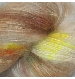 Hedgehog Fibres Hand Dyed Yarns Kidsilk Lace, Artifact