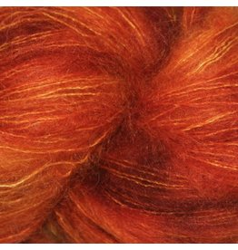 Hedgehog Fibres Hand Dyed Yarns Kidsilk Lace, Copper Penny