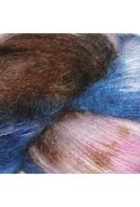 Hedgehog Fibres Hand Dyed Yarns Kidsilk Lace, Hurricane