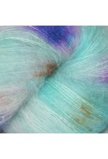Hedgehog Fibres Hand Dyed Yarns Kidsilk Lace, Monet
