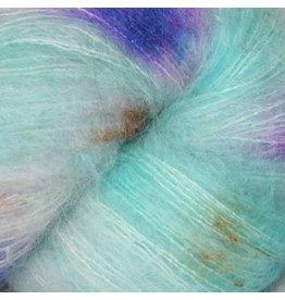 Hedgehog Fibres Hand Dyed Yarns Kidsilk Lace, Monet
