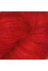 Hedgehog Fibres Hand Dyed Yarns Kidsilk Lace, Sin