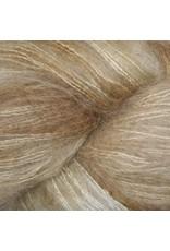 Hedgehog Fibres Hand Dyed Yarns Kidsilk Lace, Stone