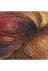 Hedgehog Fibres Hand Dyed Yarns Kidsilk Lace, Truffle