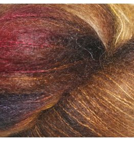 Hedgehog Fibres Hand Dyed Yarns Kidsilk Lace, Truffle