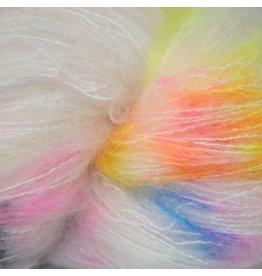 Hedgehog Fibres Hand Dyed Yarns Kidsilk Lace, Zephyr