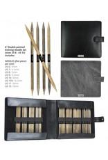 Lykke Lykke Driftwood 6-inch Double Point Needle Large Set, Grey Denim Case