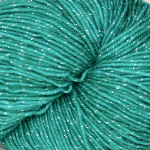Knitted Wit Pixie Plied, Amazonite