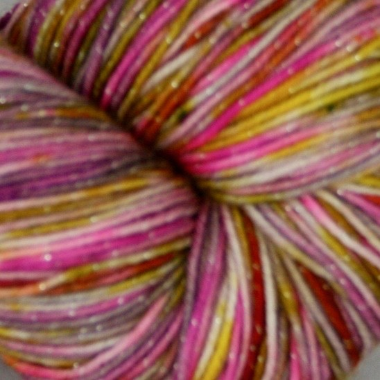 Knitted Wit Pixie Plied, Storyteller