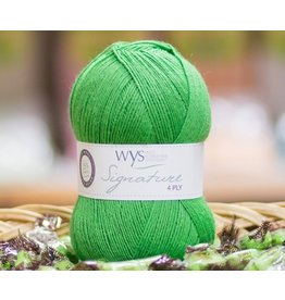 West Yorkshire Spinners Signature 4ply, Chocolate Lime
