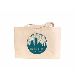 For Yarn's Sake, LLC 2018 Rose City Yarn Crawl Commemorative Tote Bag