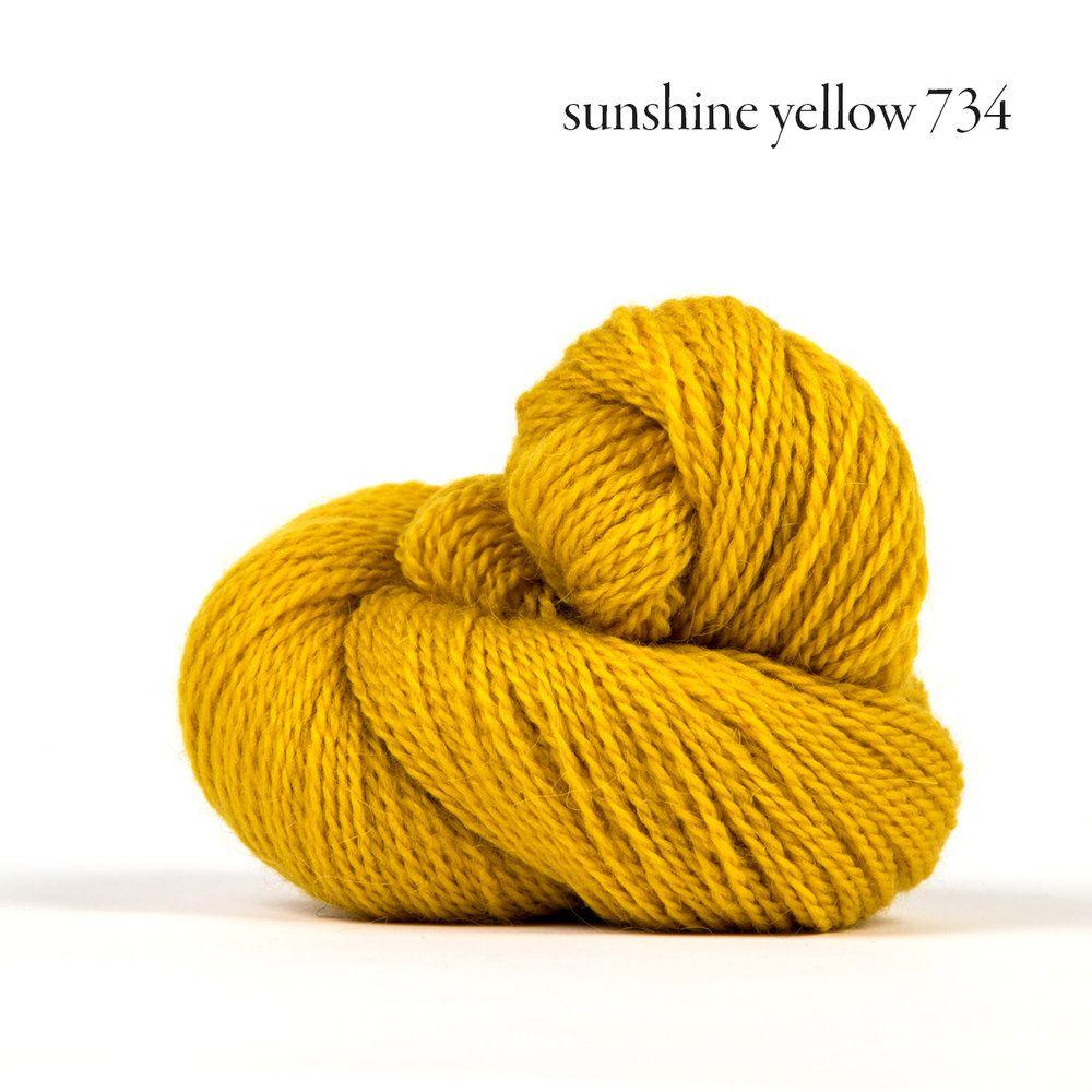 Kelbourne Woolens Andorra, Sunshine Yellow 734