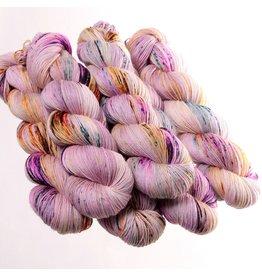 Hedgehog Fibres Hand Dyed Yarns Skinny Singles, Iris