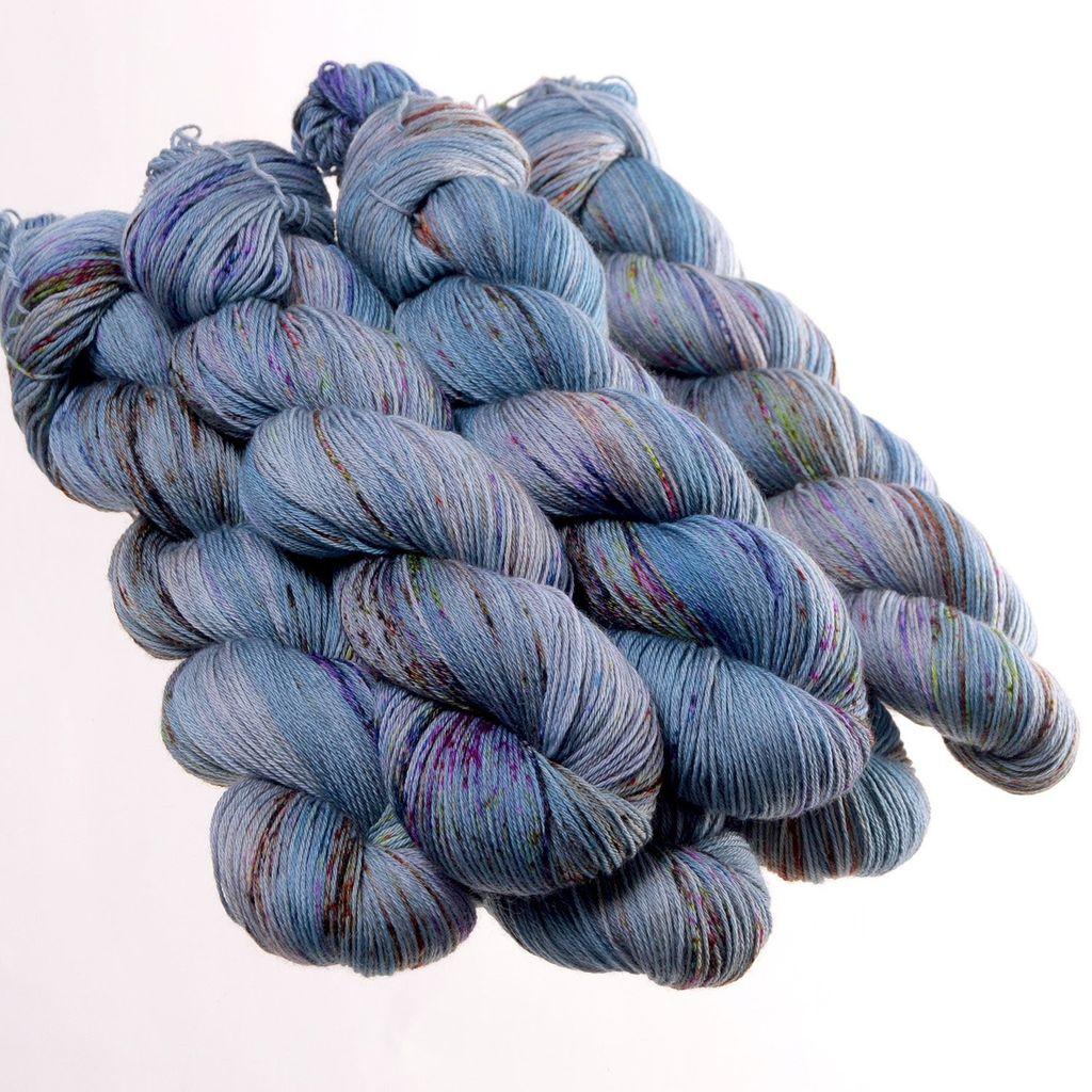 Hedgehog Fibres Hand Dyed Yarns Sock Yarn, Method