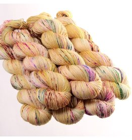 Hedgehog Fibres Hand Dyed Yarns Sock Yarn, Dijon
