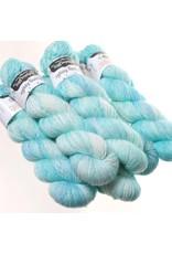 Hedgehog Fibres Hand Dyed Yarns Skinny Singles, Glacier