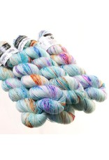 Hedgehog Fibres Hand Dyed Yarns Skinny Singles, Monet