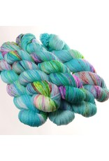Hedgehog Fibres Hand Dyed Yarns Sock Yarn, Bubble