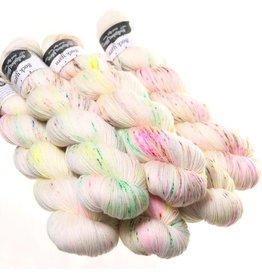 Hedgehog Fibres Hand Dyed Yarns Sock Yarn, Crybaby