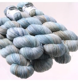 Hedgehog Fibres Hand Dyed Yarns Sock Yarn, Dove