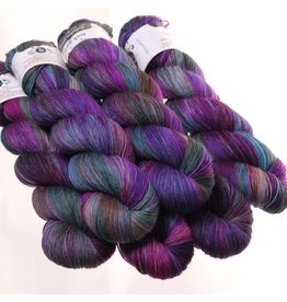 Hedgehog Fibres Hand Dyed Yarns Sock Yarn, Dragonfly