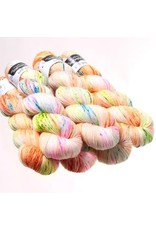Hedgehog Fibres Hand Dyed Yarns Sock Yarn, Genie