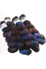 Hedgehog Fibres Hand Dyed Yarns Sock Yarn, Hurricane