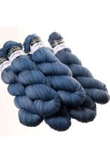 Hedgehog Fibres Hand Dyed Yarns Sock Yarn, Petrol