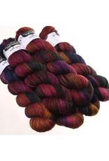 Hedgehog Fibres Hand Dyed Yarns Sock Yarn, Truffle