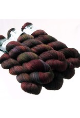 Hedgehog Fibres Hand Dyed Yarns Sock Yarn, Vengeance