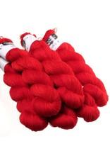 Hedgehog Fibres Hand Dyed Yarns Sock Yarn, Sin